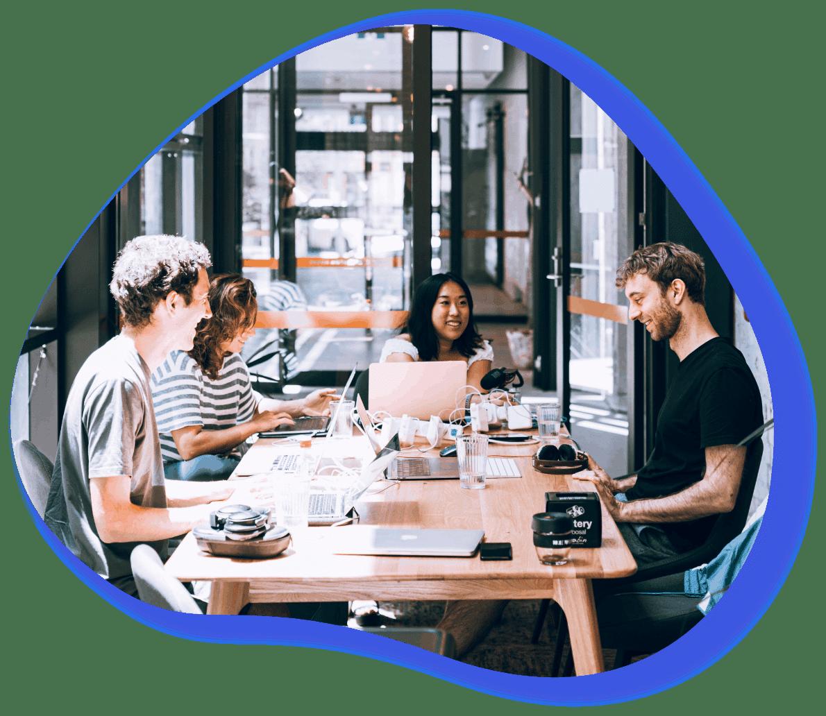 atelier de créativité dans un petite entreprise